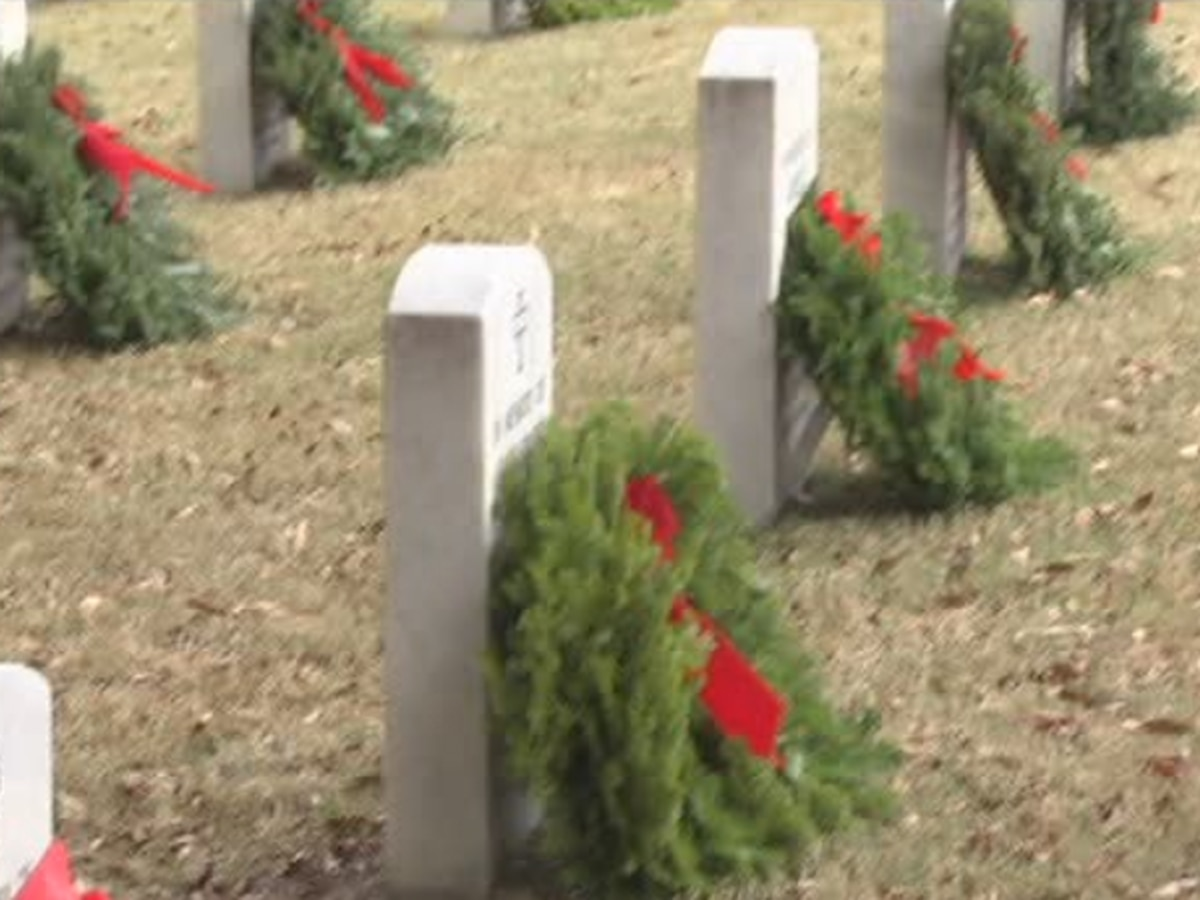 Wreaths Across America hosting wreath laying ceremony at Ft. Mitchell National Cemetery