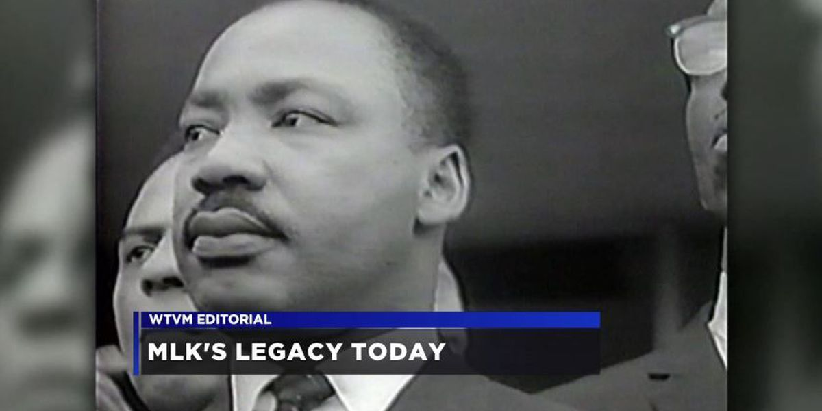 WTVM Editorial 1/13/17: Martin Luther King Jr.'s legacy