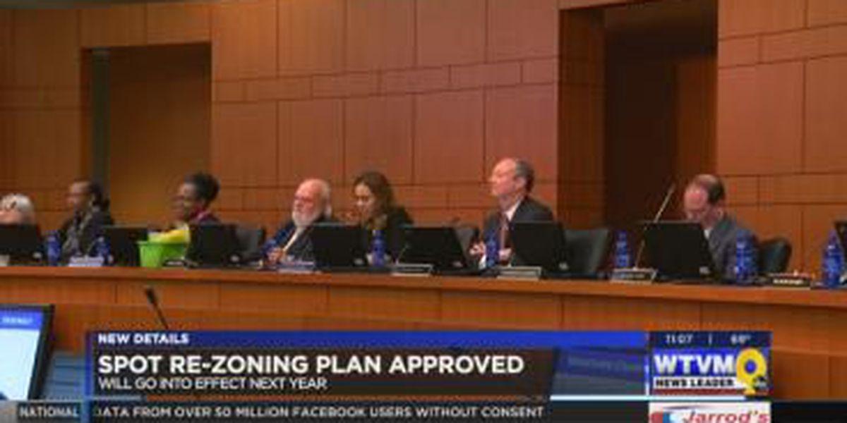 Muscogee County School Board approves spot-rezoning plan