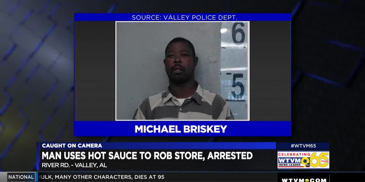 Lafayette man throws hot sauce on store clerk during robbery, police say
