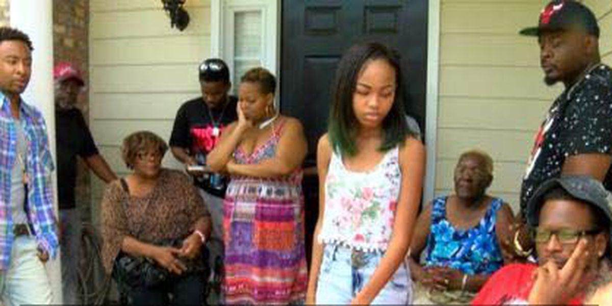 Family and friends mourn the shooting death of Zachery Clark