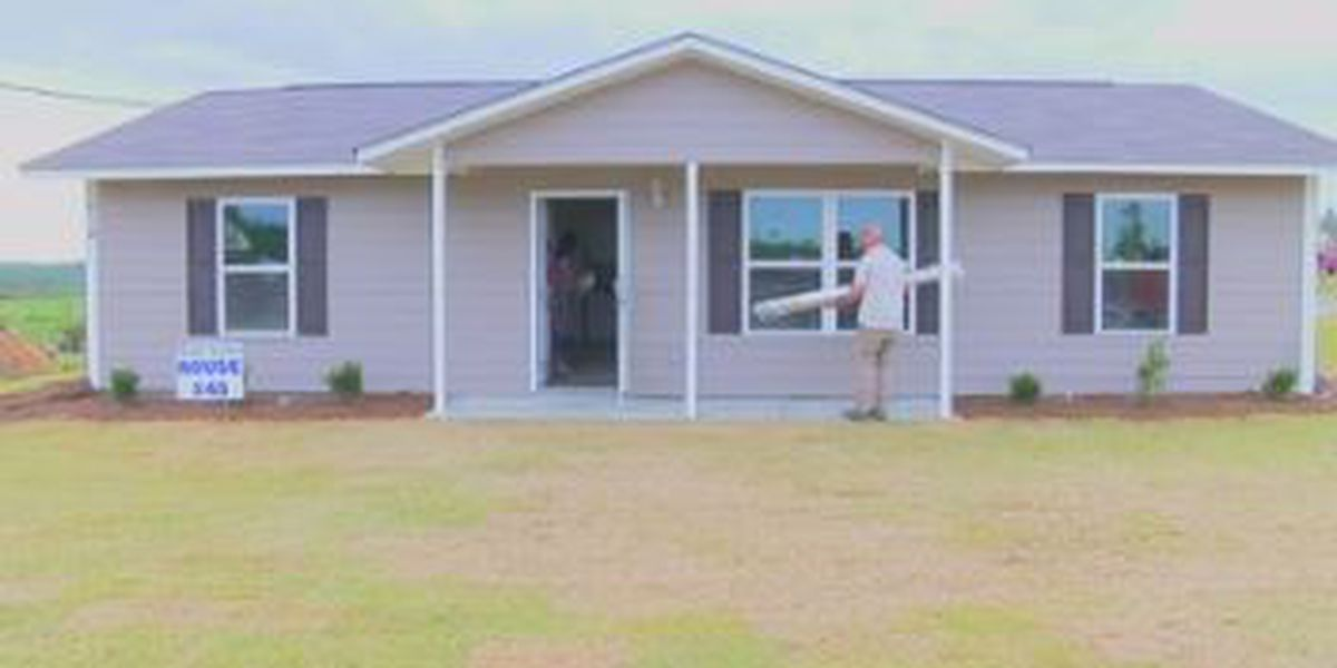 3 homes built in Beauregard for residents impacted by March 3rd tornadoes