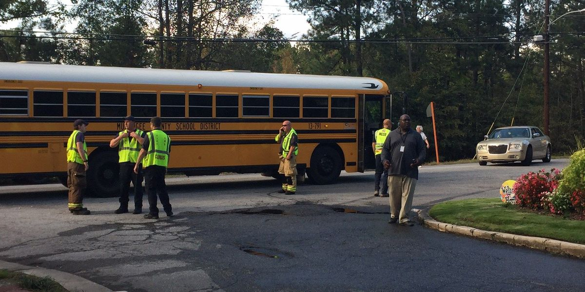 Fire crews respond to mechanical failure on MCSD bus