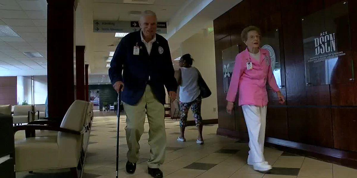 89-year-old AL man proves you are never too old to do volunteer work