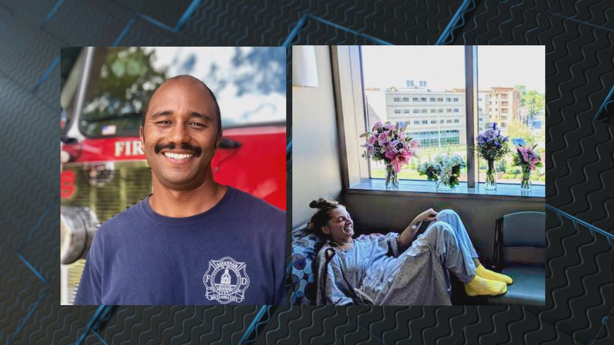 Savannah Firefighter performs CPR for 30 minutes, saves woman