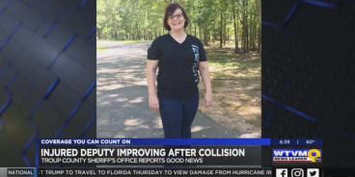 Troup County Sheriff's deputy improving after collision