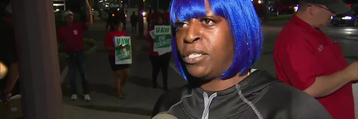 Auto workers striking say they want fair treatment