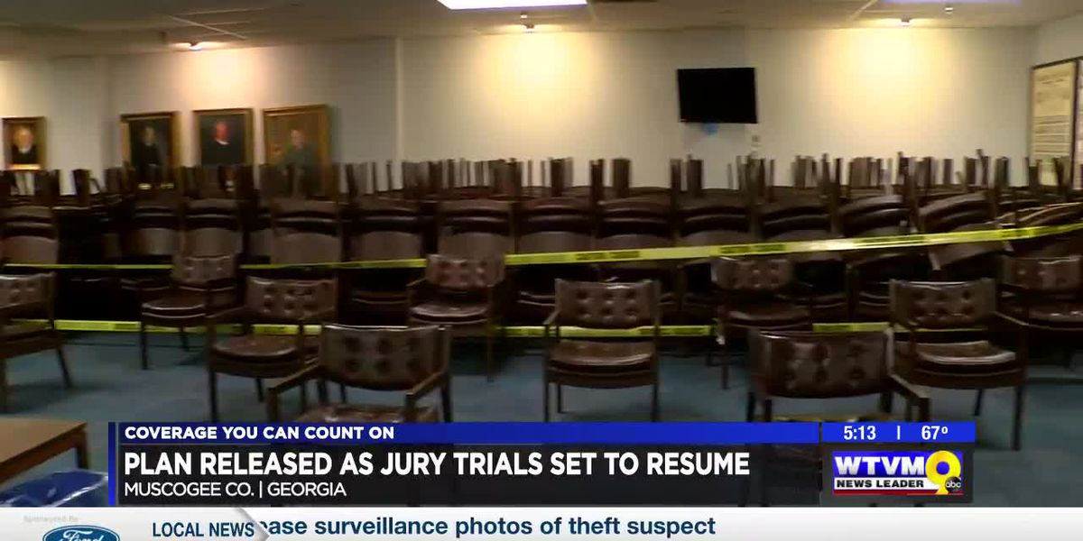 Jury trials set to resume in Muscogee County