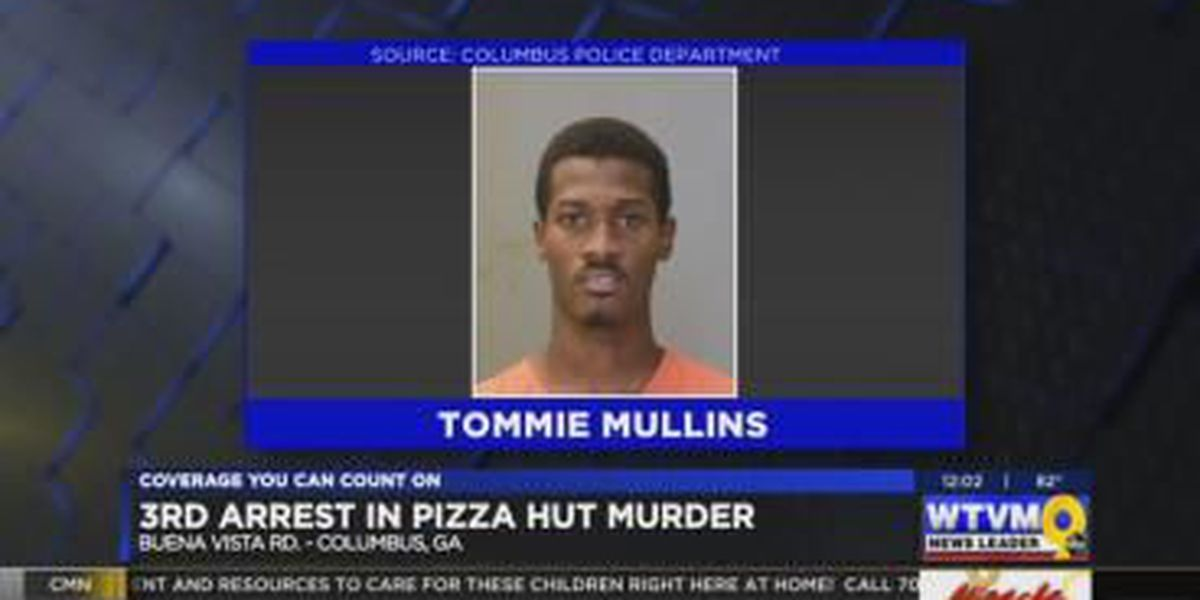 Third Columbus suspect arrested in deadly Pizza Hut shooting