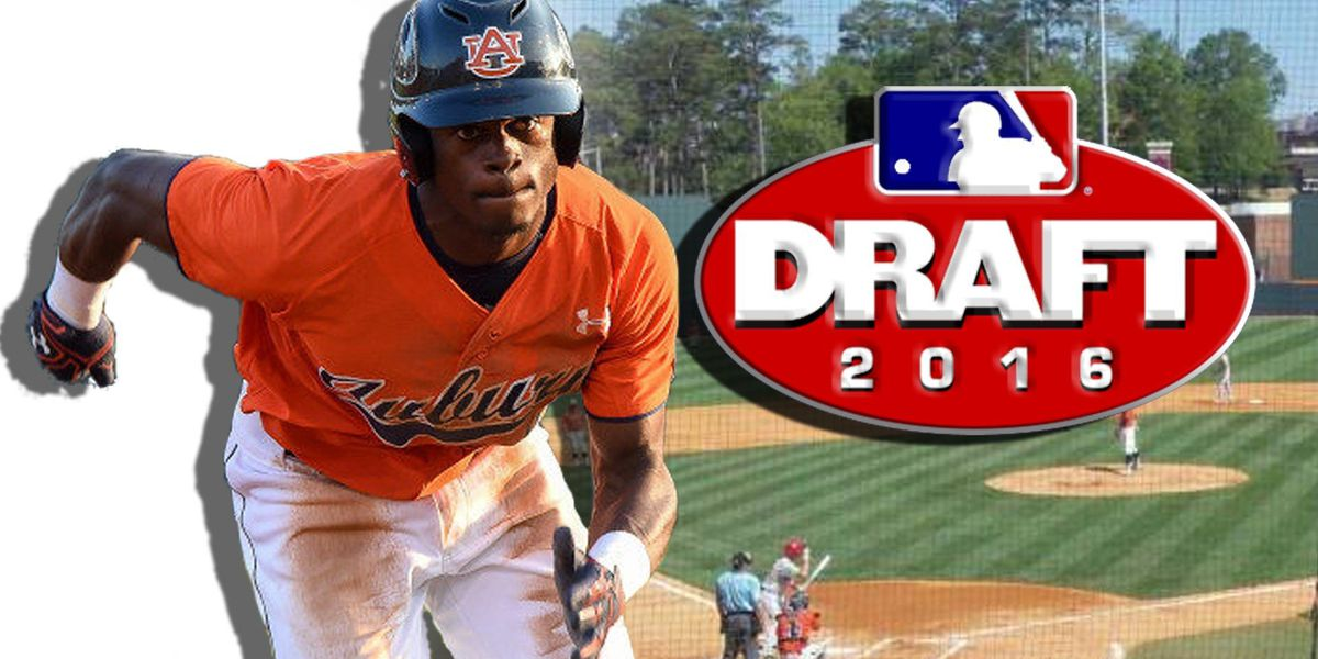 Auburn's Grier selected in first round of MLB Draft