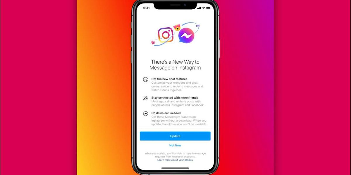 Facebook begins to merge DMs for Instagram, Messenger