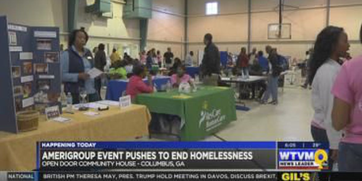 New Horizons hosts event to assist Columbus' homeless community