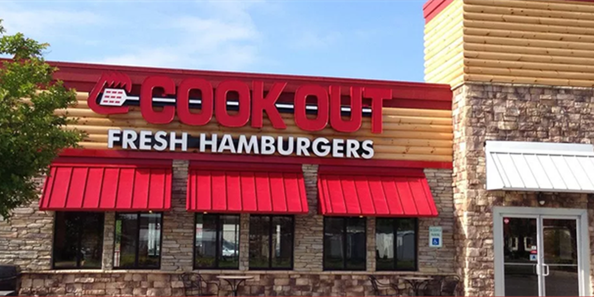 Cook Out opens a new location in Auburn