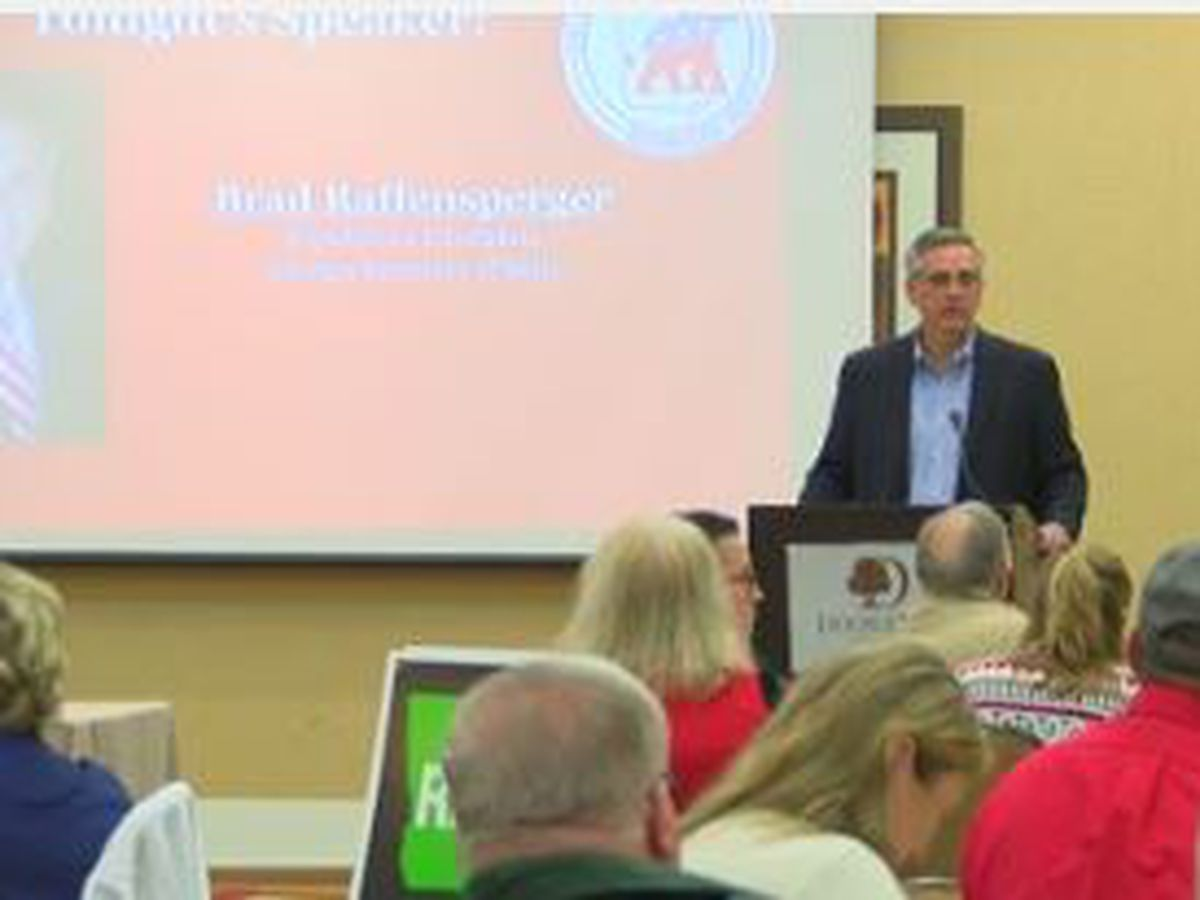 Republican candidate for GA Secretary of State visits Columbus for Muscogee Co. GOP party meeting