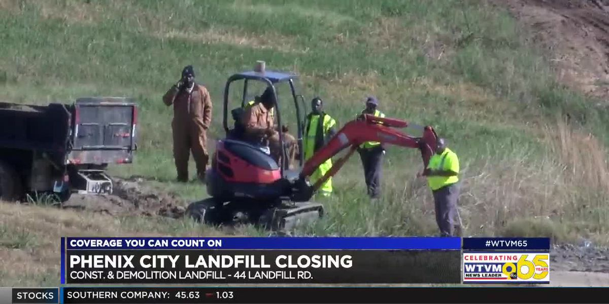 City of Phenix City shutting down landfill as it nears capacity