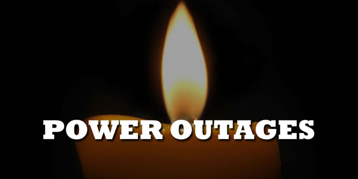 Power outages in the Chattahoochee Valley