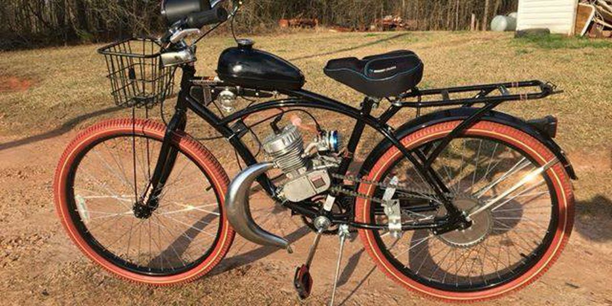 LaGrange Police searching for motorized bicycle