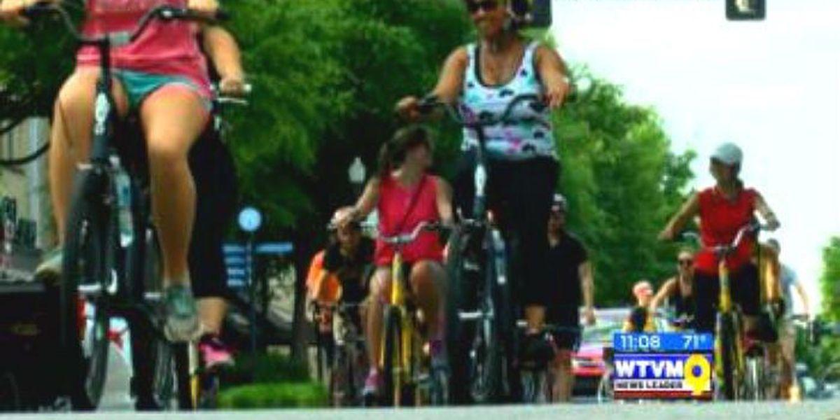 Walmart donates dozens of bikes to the Wishing Well Foundation