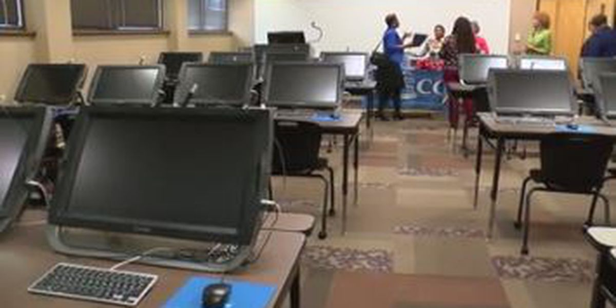 CVCC in Phenix City receives new computer labs for health science students