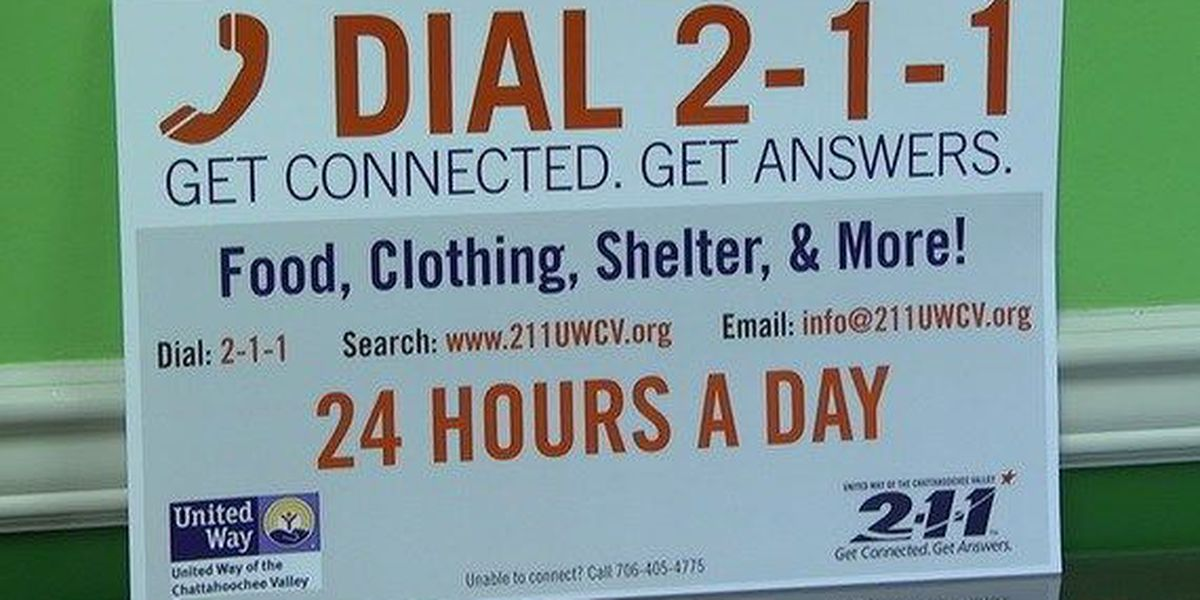 The new 211 service in Chattahoochee Valley will kick off Monday