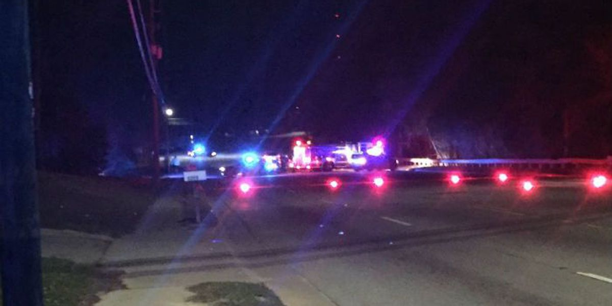 Pedestrian hit by vehicle near Columbus Fire Station 7