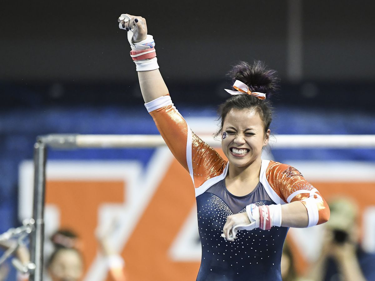 Auburn gymnast suffers career-ending injuries to both knees