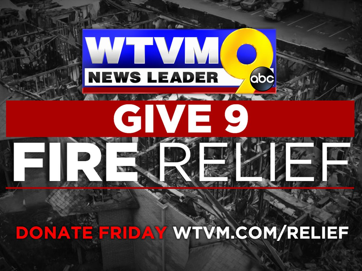 After residents displaced by Columbus fire, WTVM Give 9 Fire Relief raises over $6K for American Red Cross Emergency Fund
