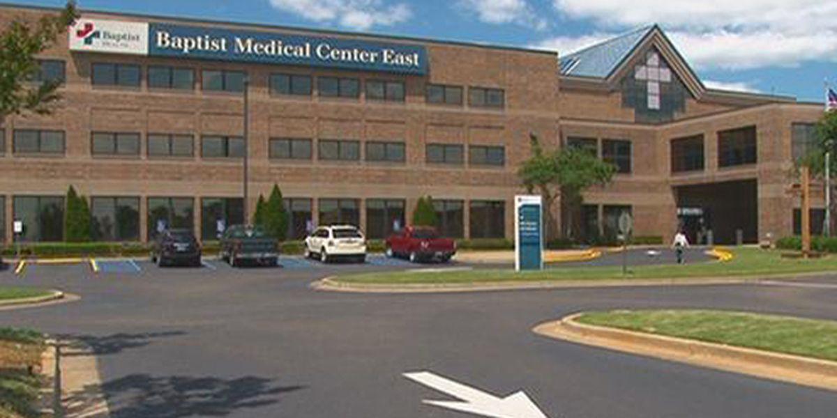 Patient shoots self at Baptist Medical Center East
