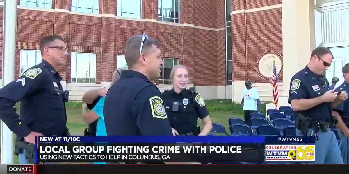Community members aiming to help law enforcement fight crime in Columbus