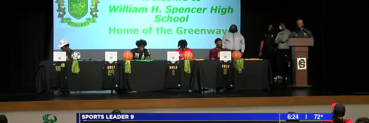 Seven area athletes sign letters of intent