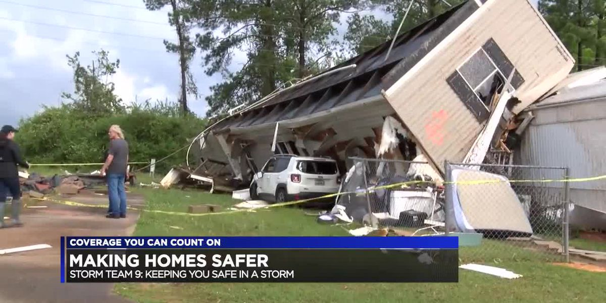 Making Your Mobile or Manufactured Home Safer in a Tornado