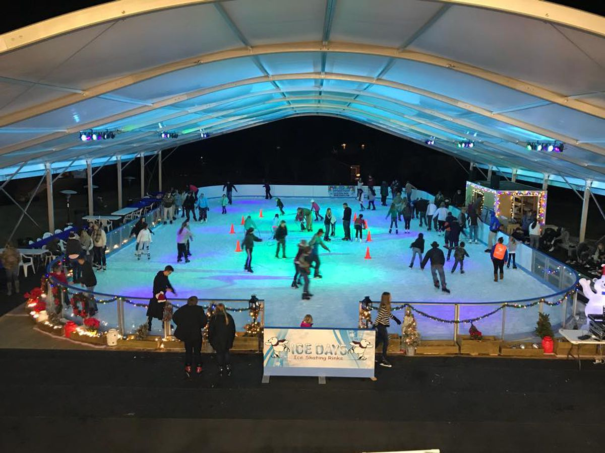 Auburn ice skating rink opens for the season