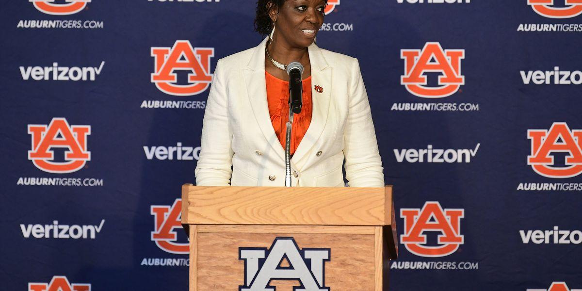 Auburn introduces Johnnie Harris as new women's basketball coach