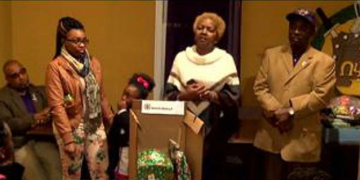 Local fraternity chapter holds toy drive for families in need