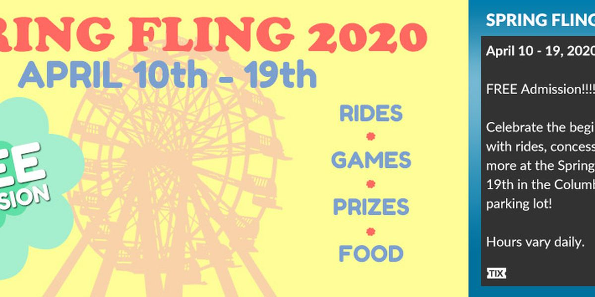 Spring Fling returns to the Columbus Civic Center April 10-19 2020