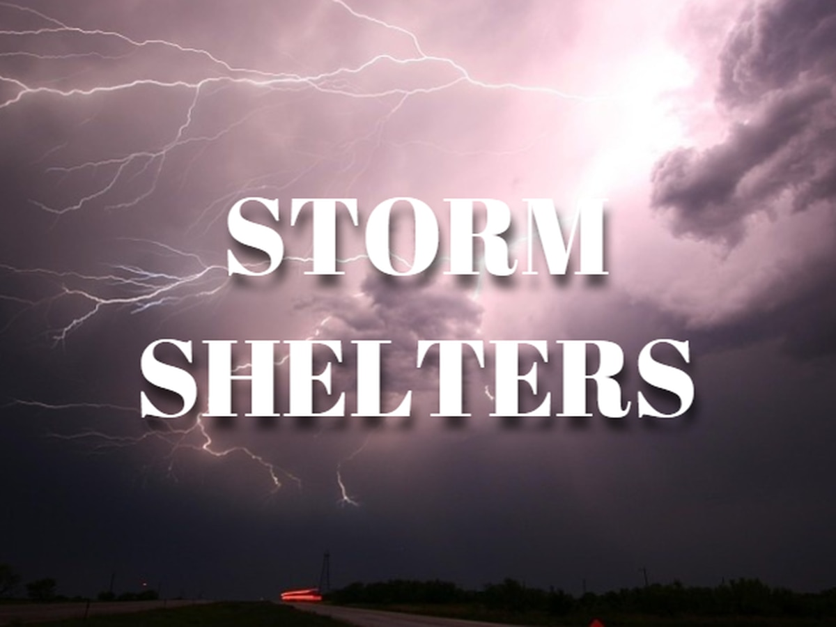 LIST: Shelters open in the Chattahoochee Valley ahead of severe weather