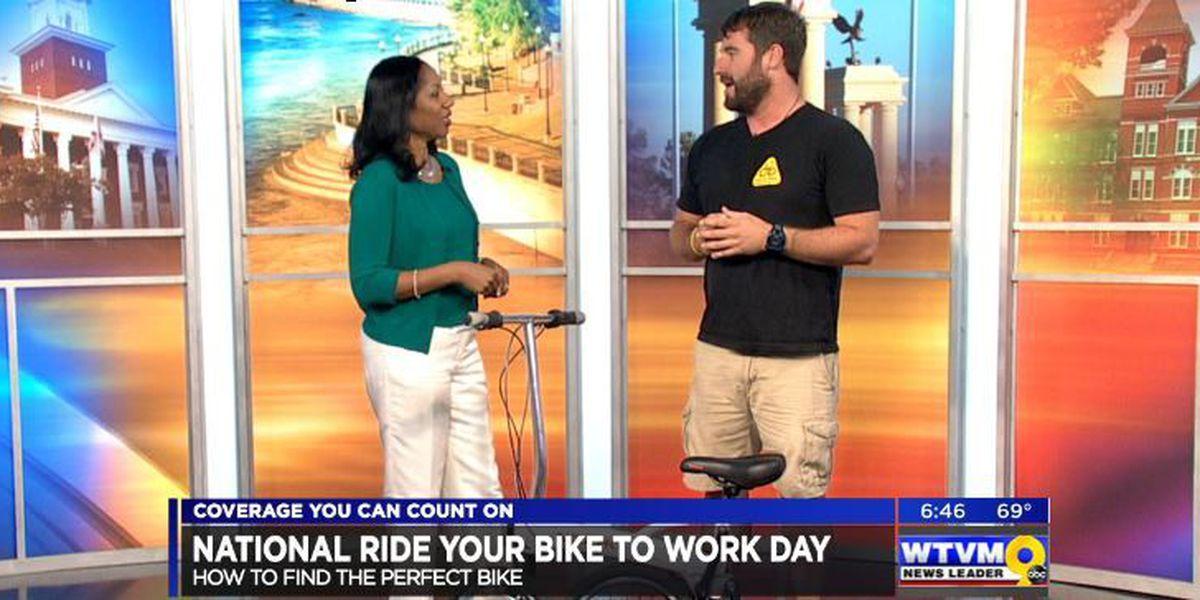 SEGMENT: National ride you bike to work day