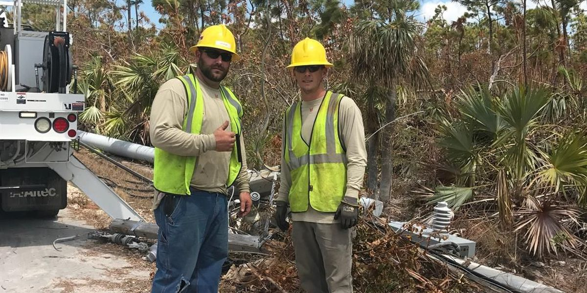 City of LaGrange crew in Key West for Hurricane Irma cleanup
