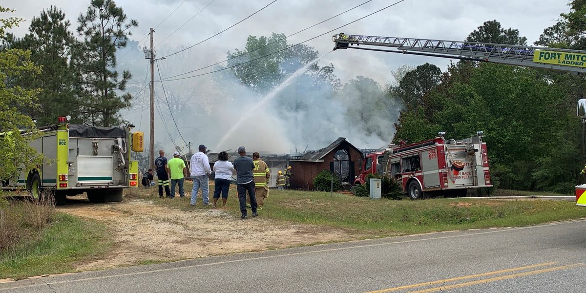 Seale home destroyed, couple safe after house fire on Lato Rd.