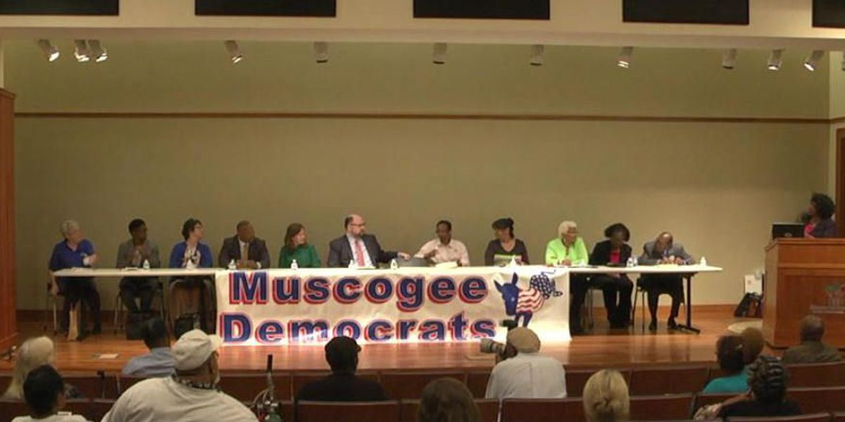 Muscogee Co. School Board candidates take the stage