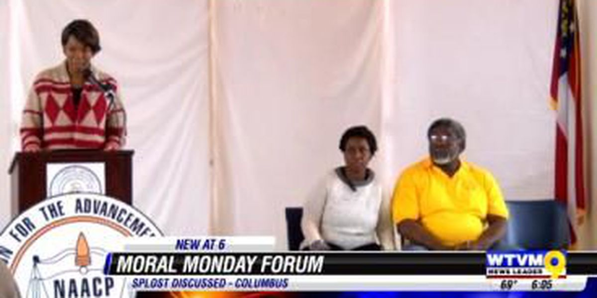 NAACP's 'Moral Monday' talks SPLOST proposal