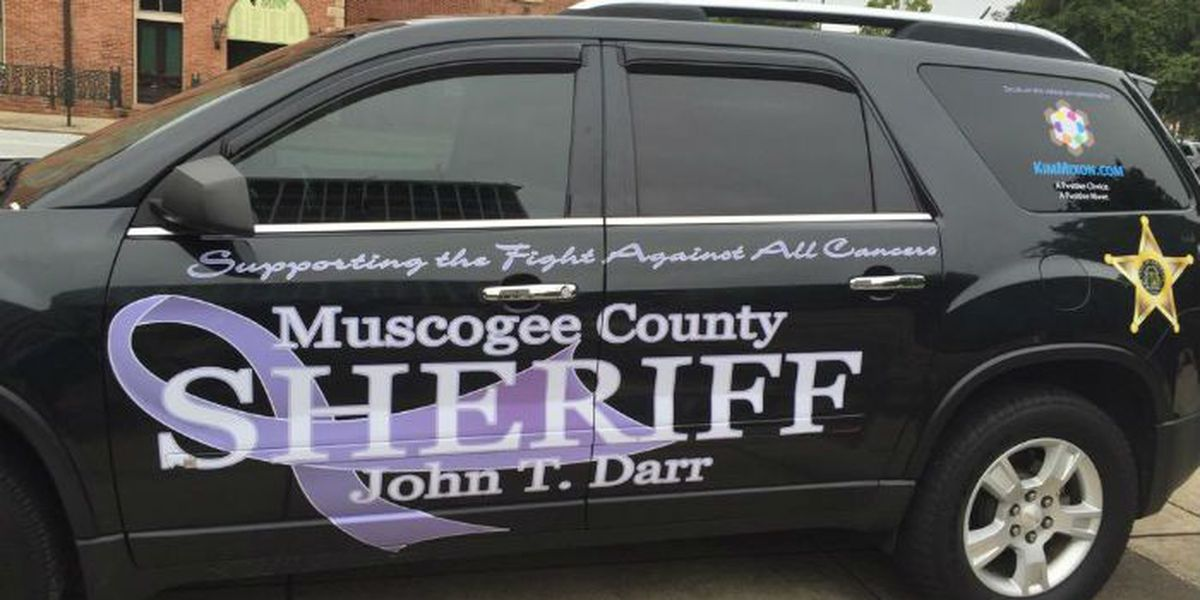 Muscogee County releases 'Fight Against Cancer' support vehicle