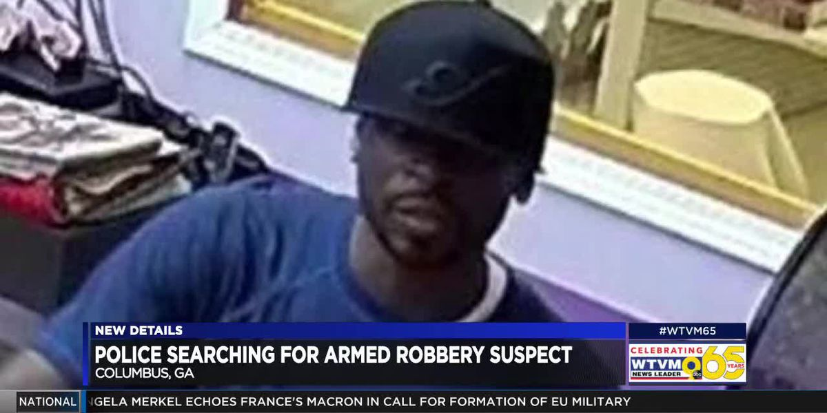 Police looking for double armed robbery suspect