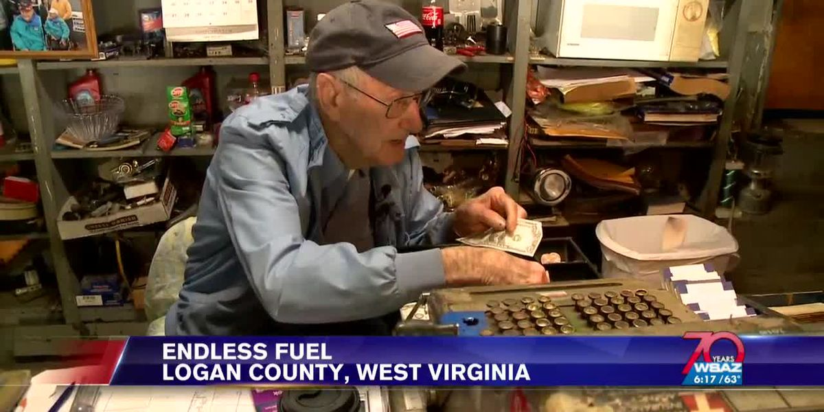 West Virginia's oldest gas station attendant