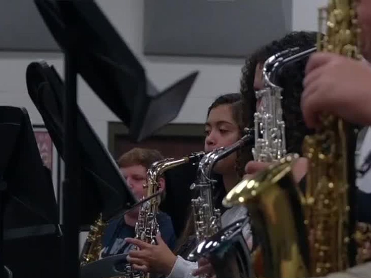 Smiths Station HS Band needs community support to purchase new instruments