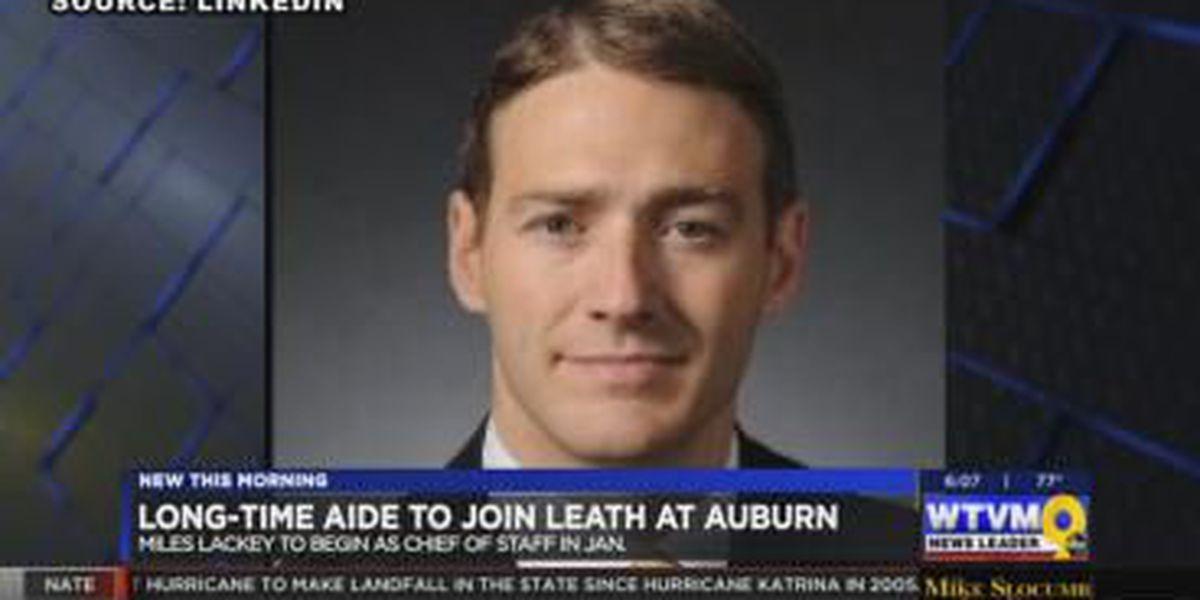 Auburn University president names new chief of staff