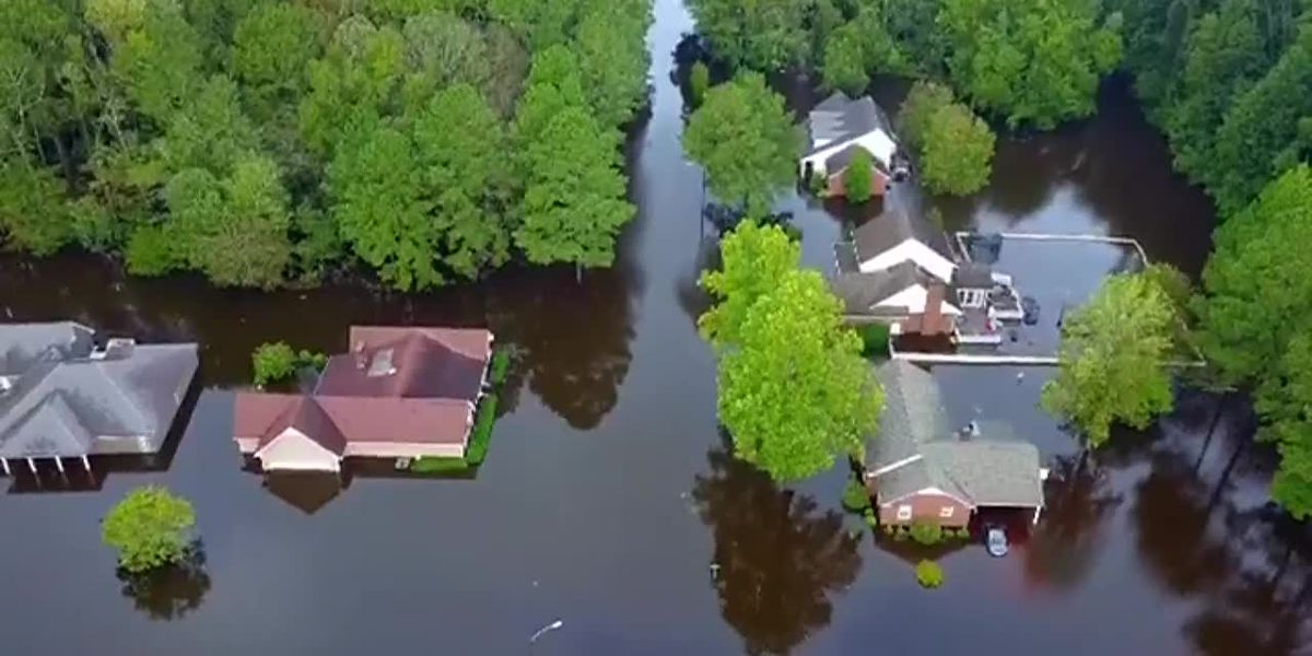 The aftermath of Hurricane Florence