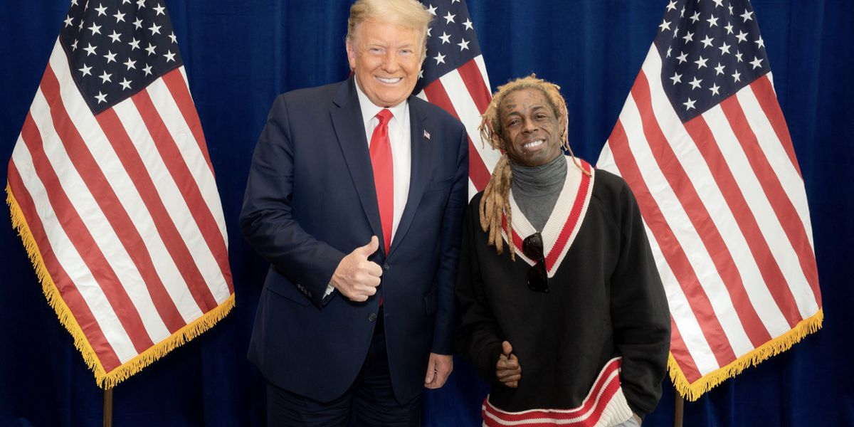President Trump grants clemency to rappers Lil Wayne and Kodak Black