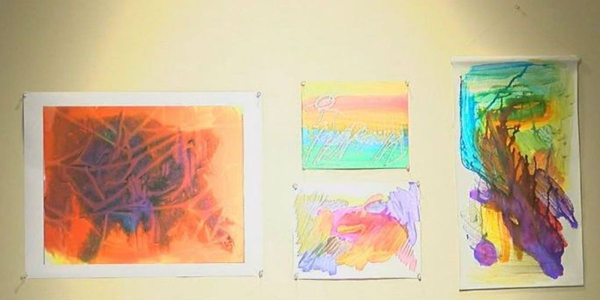 Columbus Museum hosts art exhibit created by adults with developmental disabilities