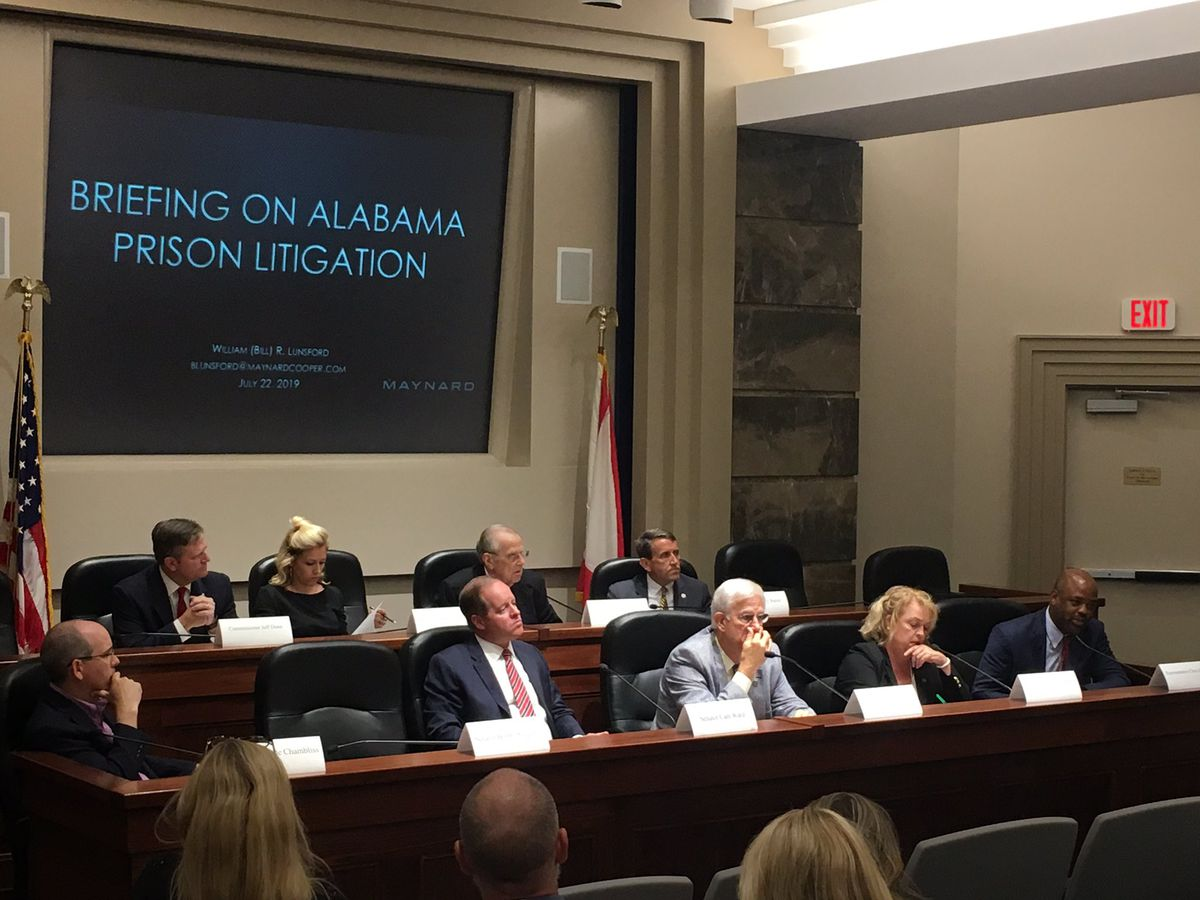 Study group meets to find solutions to state prison problems